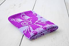 Textil - Detská pletená deka - 11201936_