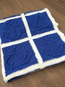 Textil - Deka do kočíka pre chlapca - 11199578_