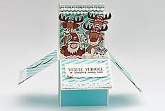 Papiernictvo - Vianočné soby - 11201574_