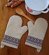 Kuchynské rukavice (chňapka)
