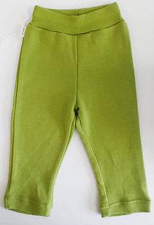 Detské oblečenie - VÝPREDAJ merino tepláčiky - 11201383_