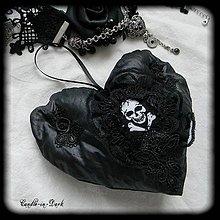 Dekorácie - Gotická dekorácia - romantické srdce - 11202158_