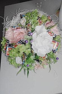 Darčeky pre svadobčanov - Žrebová kytička - 11200232_