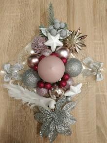 Nezaradené - Vianočný svietnik - 11199163_