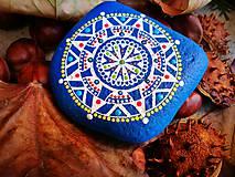 """Dekorácie - Maľovaný kameň """"Babie leto"""" - 11201645_"""
