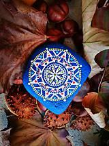 """Dekorácie - Maľovaný kameň """"Babie leto"""" - 11201648_"""