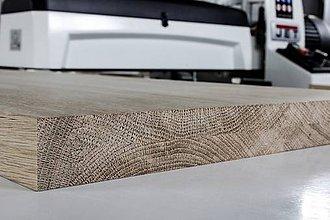 Nábytok - dubove schody - stupnice, masivne dubove drevo - 11199179_