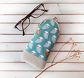 Taštičky - Púzdro na okuliare Sovy - 11201561_