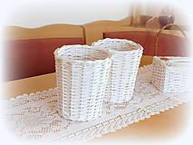 Košíky - Košík - kvetináčik - 11200827_