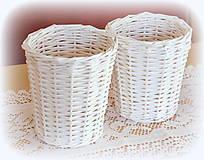 Košíky - Košík - kvetináčik - 11200838_