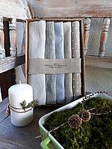 - Darčeková sada Linen Towels Simply - 11202271_