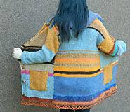 Kabáty - Svetrokabátik barevný - 11204086_
