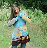 Kabáty - Svetrokabátik barevný - 11204093_