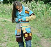 Kabáty - Svetrokabátik barevný - 11204094_