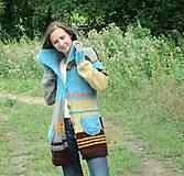 Kabáty - Svetrokabátik barevný - 11204096_