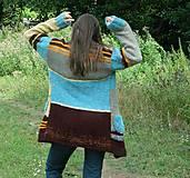 Kabáty - Svetrokabátik barevný - 11204115_