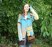 Kabáty - Svetrokabátik barevný - 11204116_