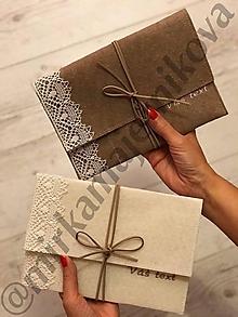 Darčeky pre svadobčanov - obal ny foto USB a CD v jednom s menami, dátumom.... - 11205197_