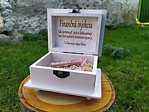Krabičky - Šperkovnička Finančná injekcia - 11204937_