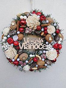 Dekorácie - Vianočný venček - 11205486_