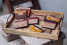 Peňaženky - Korková mini peňaženka - 11203862_