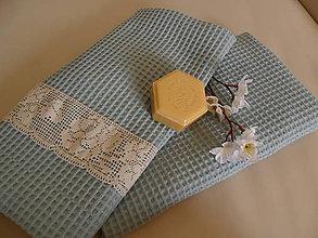 Úžitkový textil - Uteráky- sada 2 ks. - 11203709_