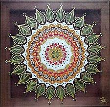 Obrazy - Mandala...Harmónia radostného života - 11206132_