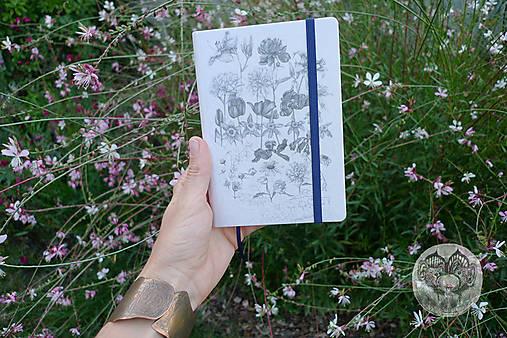 Diár 2020 *Kvety a pavučina*