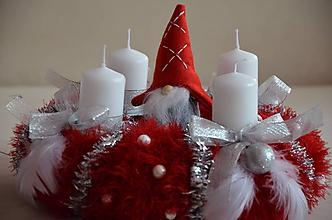 Dekorácie - Veniec  rozprávkové Vianoce - 11205225_