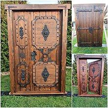 Nábytok - Rustikalne vchodove dvere - 11203021_