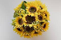 Dekorácie - Veľký box slnečnice - 11205893_