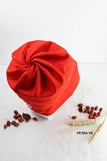 Detské čiapky - Detská ČIAPKA S OTVOROM na COP - 11205974_
