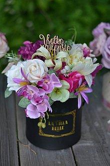 Dekorácie - Flowerbox v sviežych farbách - 11206367_