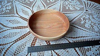 Nádoby - Miska z dreva (Jaseň) - 11202915_