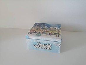Krabičky - Vianočná krabička - 11203893_