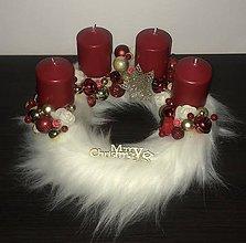 Dekorácie - Vianočný veniec - 11203304_
