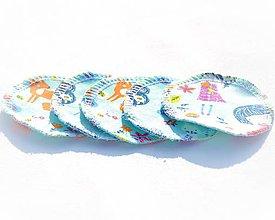 Úžitkový textil - Odličovací tampón Dievča - 11204879_