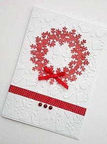 Papiernictvo - vianočný pozdrav - 11203743_