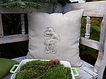 Úžitkový textil - Obliečka na vankúš Natur Christmas IV - 11203996_