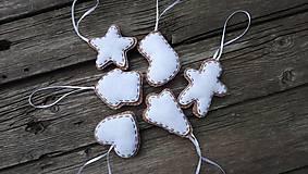- Vianočné ozdoby Perníčky (Biela) - 11209923_