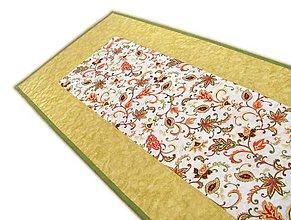 Úžitkový textil - Obrus jesenný žltý - 11207577_