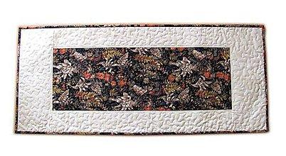 Úžitkový textil - Obrus jesenný (čierny) - 11207614_
