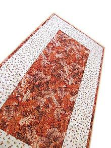 Úžitkový textil - Obrus jesenný (hnedooranžový) - 11207639_