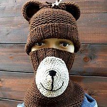 Detské čiapky - ..u Macíka - 11207556_