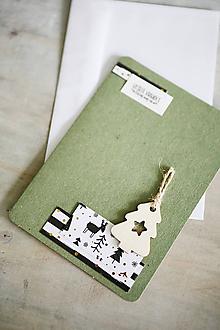 Papiernictvo - Vianočná pohľadnica - 11207011_