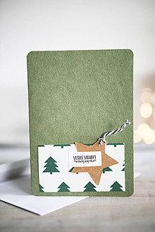 Papiernictvo - Vianočná pohľadnica - 11207018_