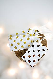 Papiernictvo - Menovky na darčeky - vianočné - 11207052_