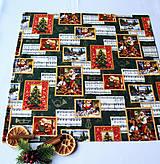 Úžitkový textil - Vianočný obrus 52 x 52 - 11209492_