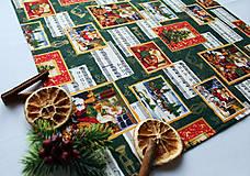 Úžitkový textil - Vianočný obrus 52 x 52 - 11209498_