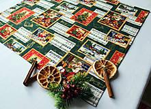 Úžitkový textil - Vianočný obrus 52 x 52 - 11209503_